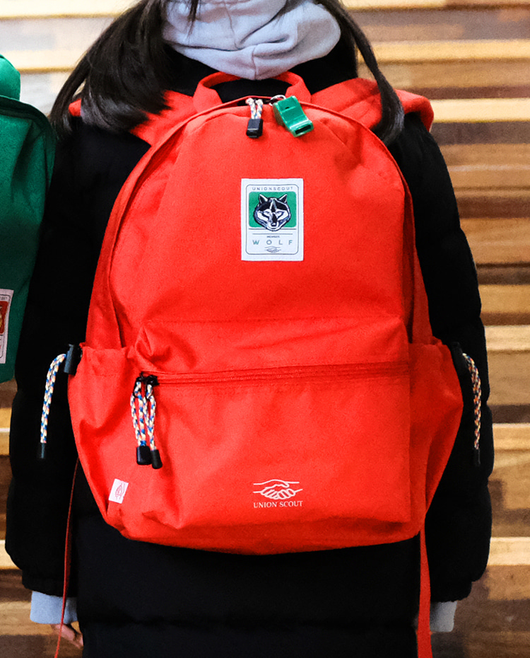 BackPack Solid - RED