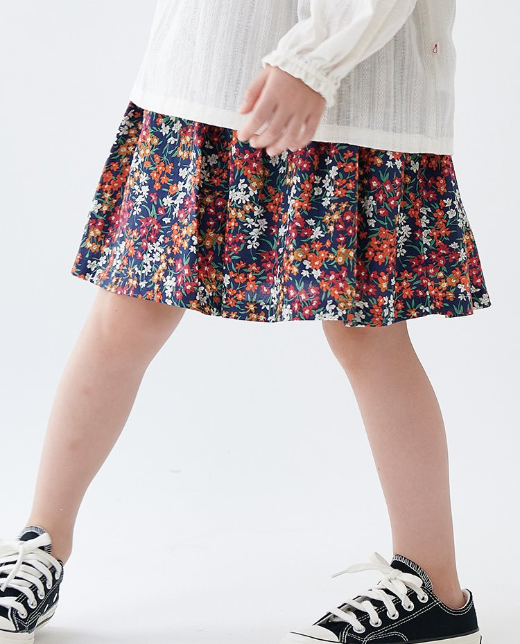 BASIC EASY SKIRT_LIBERTY PRINT