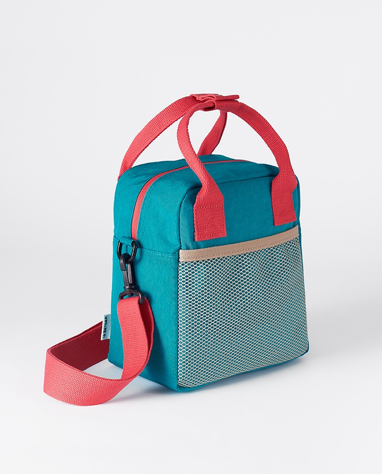 Lunch bag (Let's Go On A Picnic) | 도시락 가방 (Turquoise blue)