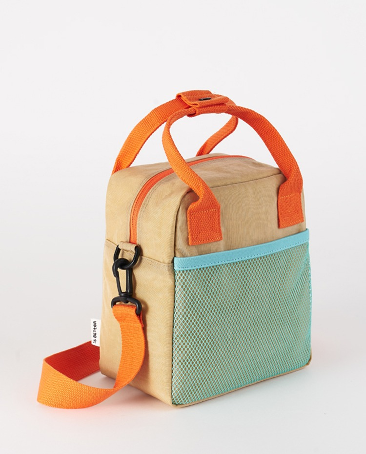 Lunch bag (Let's Go On A Picnic) | 도시락 가방 (Pastel beige)