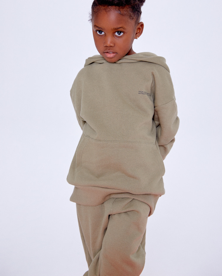 KIDS AUTHENTIC PANTS(OLIVE)