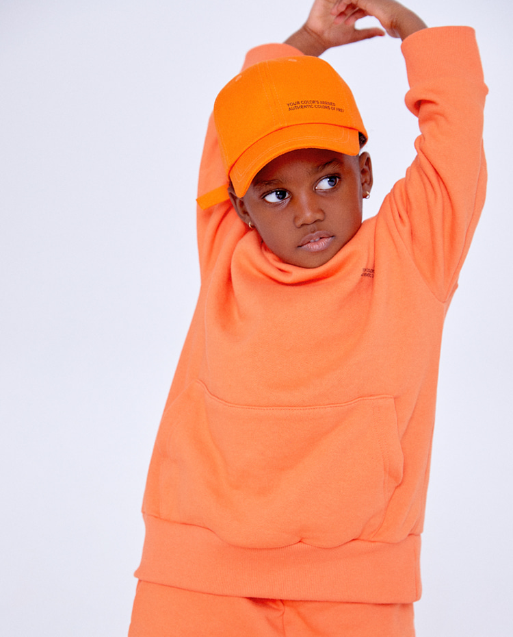 KIDS AUTHENTIC HOODIE(AUTHENTIC ORANGE)