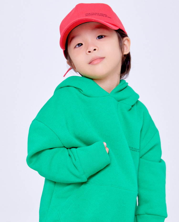 KIDS AUTHENTIC HOODIE(AUTHENTIC GREEN)