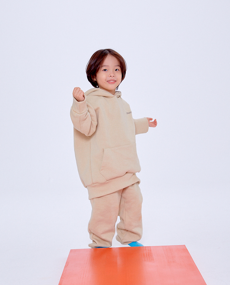 KIDS AUTHENTIC PANTS(SAND BEIGE)