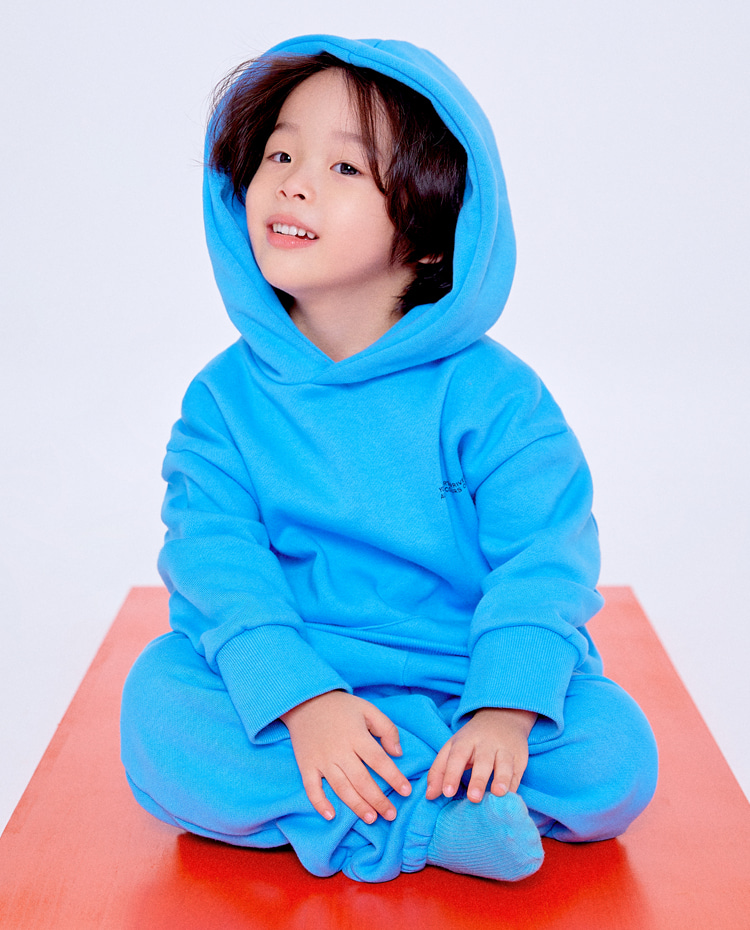 KIDS AUTHENTIC HOODIE(AUTHENTIC SKY BLUE)