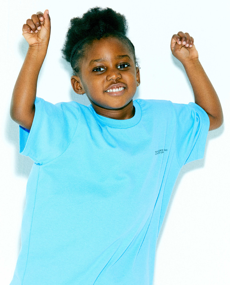 KIDS AUTHENTIC T-SHIRT(AUTHENTIC SKY BLUE)