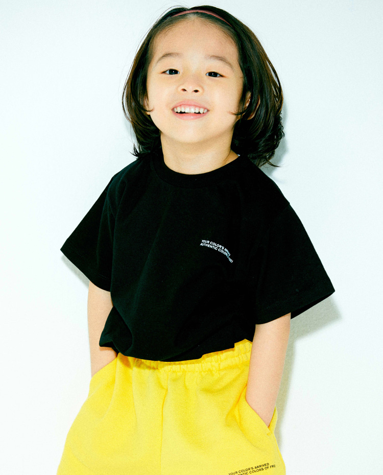 KIDS AUTHENTIC T-SHIRT(BLACK)