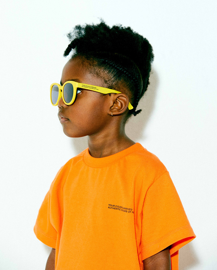 KIDS AUTHENTIC T-SHIRT(AUTHENTIC ORANGE)